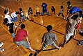US Navy 100503-N-5862D-069 The Fleet and Family Support Center organized games for children to pass the time at the North-side gym at Naval Support Activity Mid-South in Millington, Tenn.jpg