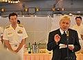 US Navy 110616-N-JY929-110 Kiyokazu Ota, Consulate-General of Japan in Seattle, speaks about American and Japanese relations aboard the Japan Marit.jpg