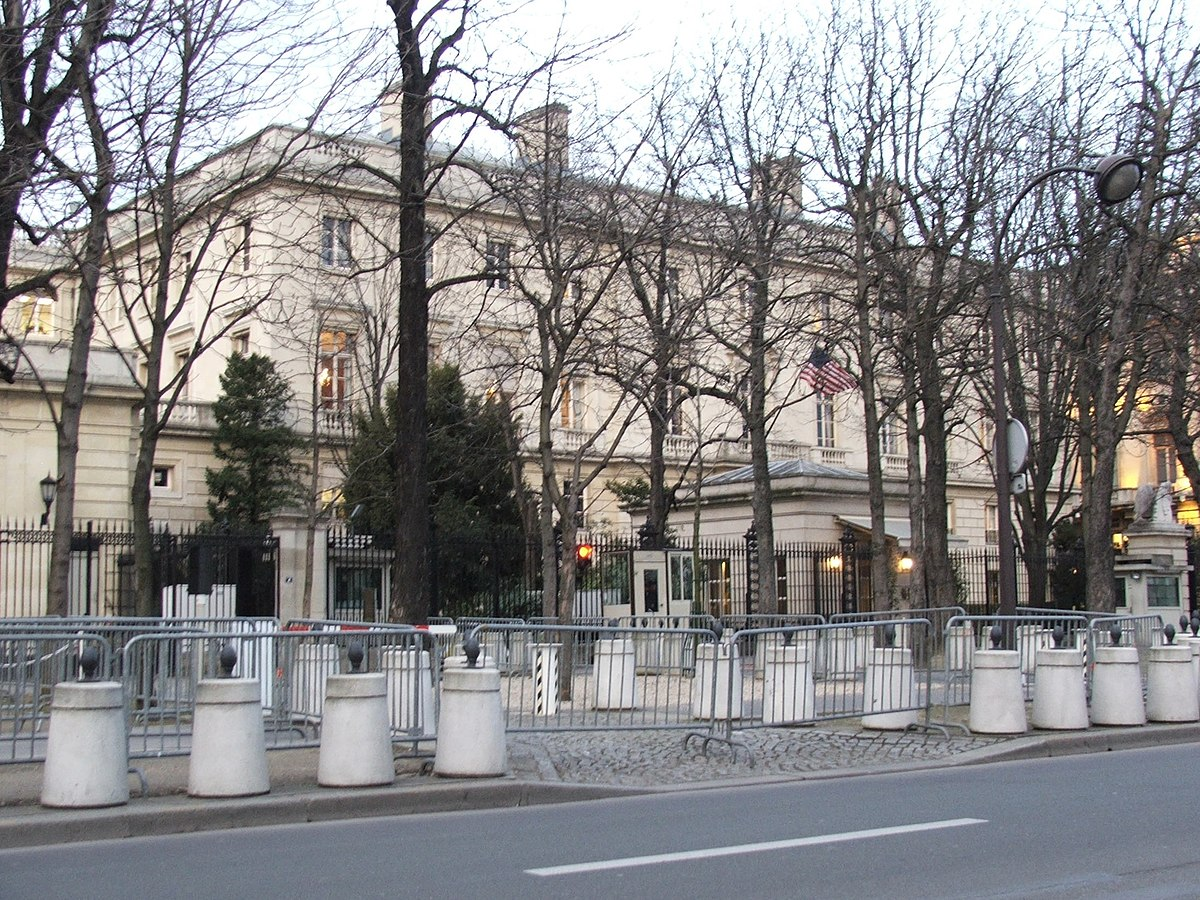 Embassy of the United States, Paris - Wikipedia