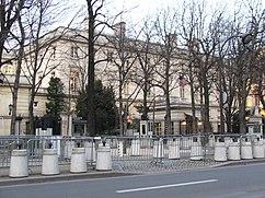Embajada de Estados Unidos, París