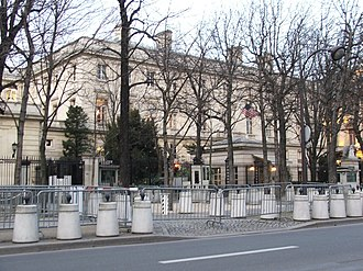 Embassy of the United States, Paris - Image: US embassy Paris 6375