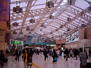 Ueno Station - Main hall
