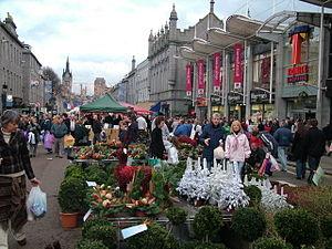 Union Street, Aberdeen - Union Street International Market