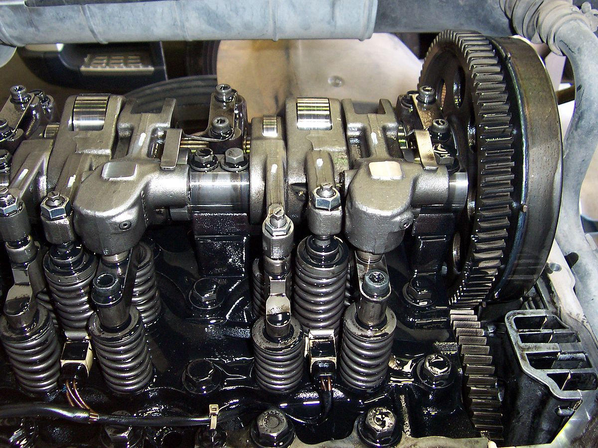 compression release engine brake wikipedia rh en wikipedia org Volvo D12 Engine Front Engine Brake Wiring Diagram