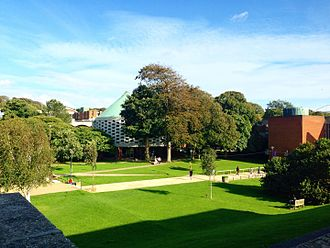 University of Sussex - A picture of Meeting House and Library Square