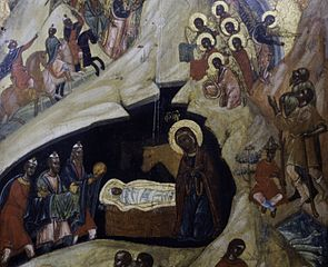 Nativity with Adoration of the Kings
