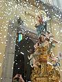 Uscita della Madonna dalla chiesa nel giorno della festa.JPG