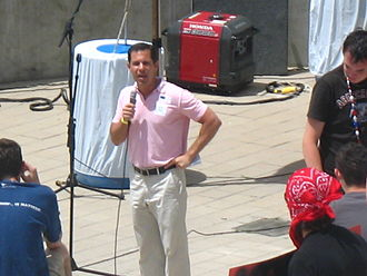 Patrick Guerriero - Guerriero on stage at the 2006 Utah Pride Festival