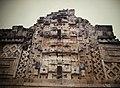 Uxmal Nunnery Quadrangle, North Building, Chac Masks (9785190501).jpg