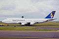 VH-ANB B747-412 Ansett Au SYD 27SEP99 (6582233009).jpg