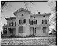 VIEW TO SOUTH, SHOWING PRINCIPAL ELEVATION - Hayt Farmstead, Mansion, Route 311, Patterson, Putnam County, NY HABS NY,40-PAT,2-A-1.tif