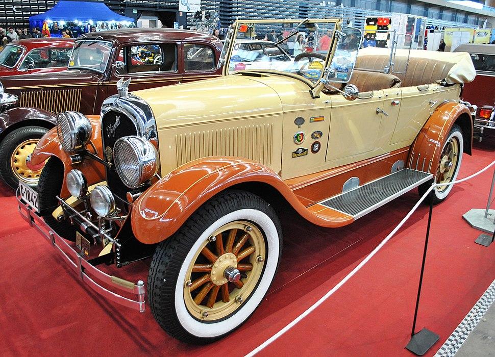 V Retro Auto&Moto Galicia, Chrysler B70 Six, 1926, wood rims