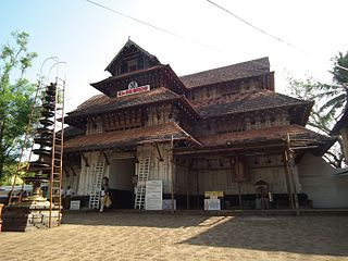 Vadakkunnathan Temple ancient Hindu temple dedicated to Shiva, in the city of Thrissur, of Kerala state in India