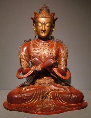 Vajradhara - 18th-century Chinese statue of Vajradhāra