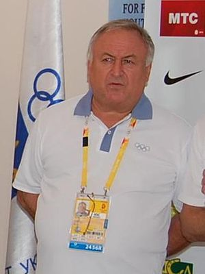 Valeriy Borzov - Valeriy Borzov at the 2008 Olympics