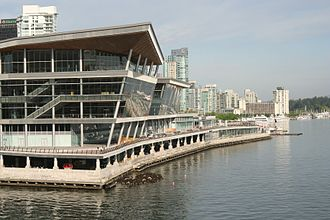 Vancouver Convention Centre - Completed West Building