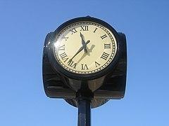 Vancouver clock