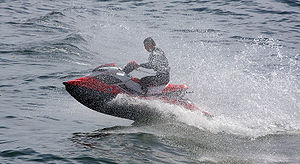 Sea-Doo RXP in action
