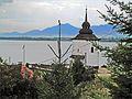 Veža gotického kostola - panoramio.jpg