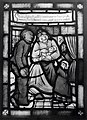 Verloskundige in glas-in-lood - Cathedral glass showing midwife (5680140964).jpg
