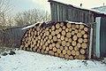 Vesyegonsk, stack of firewood (30766764261).jpg