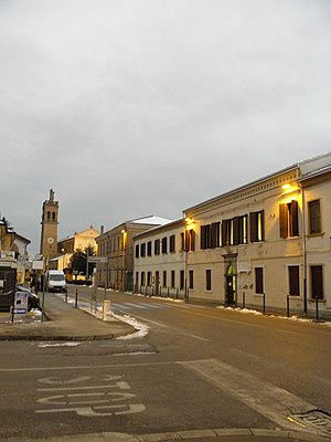 Codevigo - Image: Via Vittorio Emanuele III (Codevigo)