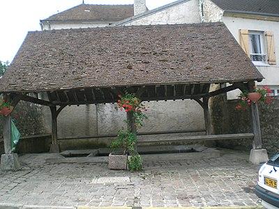 Waschhaus Rue du Montcel (Viarmes)
