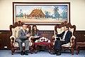 Vicecanciller Marco Albuja se reúne con el MInistro de Relaciones Exteriores de Laos (8409705115).jpg