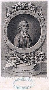 Jakob Adam nach Joseph Kreutzinger: Vicente Martín ySoler, 1786/1787. (Quelle: Wikimedia)
