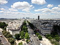 View from Arc de Triomphe 62 2012-07-02.jpg