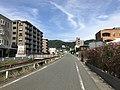 View of Mount Mikazukiyama near Kami-Nakanoharubashi Bridge.jpg