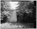 View of west side of structure. - 2413-2415 Eddy Street (House), Louisville, Jefferson County, KY HABS KY,56-LOUVI,82-4.tif