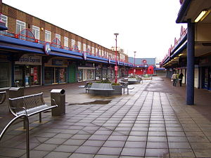 Arndale Centre - The first Arndale Centre, in Jarrow, opened in 1961. It is now known as the Viking Centre.