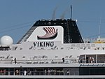 Viking Sky Funnel Tallinn 24 July 2017.jpg
