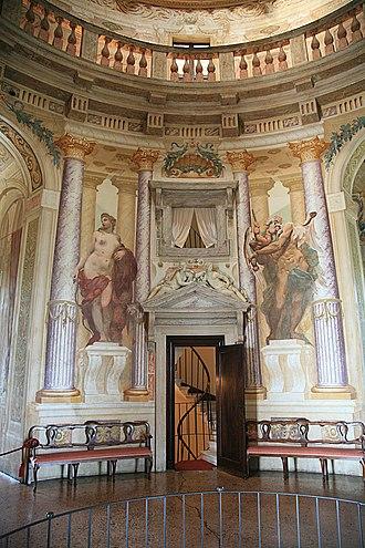 Italian Renaissance interior design - Image: Villa Capra 2007 07 18 6