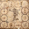 Villa Armira - Central Floor Mosaic in the National Historic Museum Sofia PD 2012 43.JPG