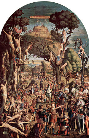 Ten thousand martyrs - 10,000 martyrs of Mount Ararat by Vittore Carpaccio.