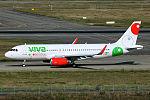 VivaAerobus Airbus A320 at Toulouse.jpg