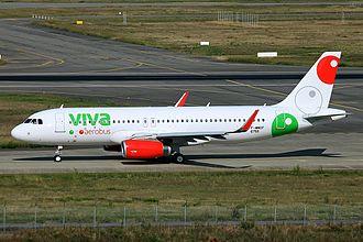 VivaAerobús - VivaAerobus Airbus A320.