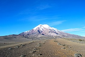 Chimborazo volcano, the closest point to the sun.