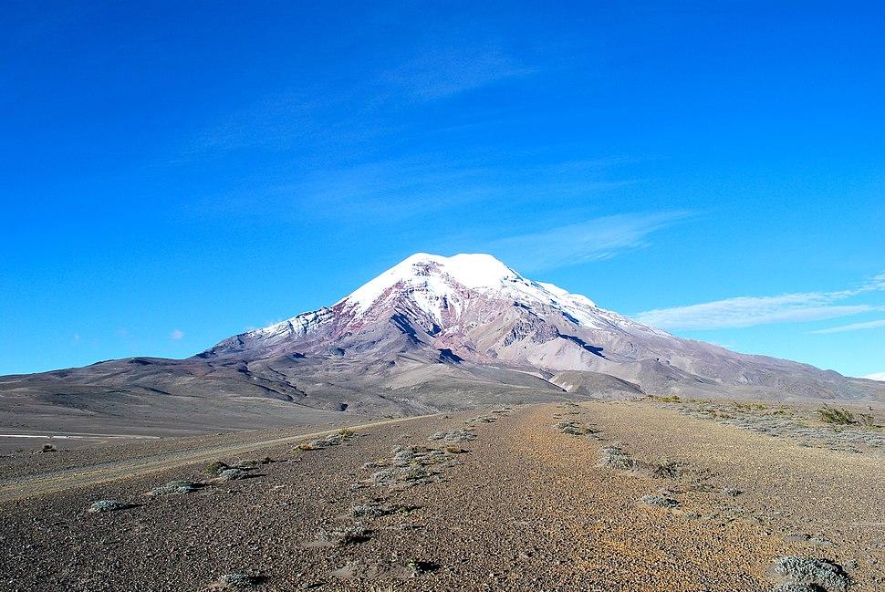 """Volcán Chimborazo, """"El Taita Chimborazo"""""""