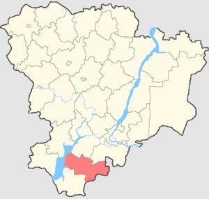 Oktyabrsky District, Volgograd Oblast - Image: Volgogradskaya oblast Oktyabrsky rayon
