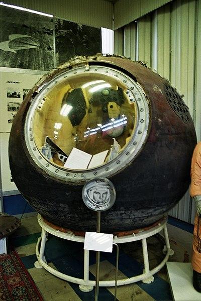 Ficheiro:Vostok1 descent module.jpg