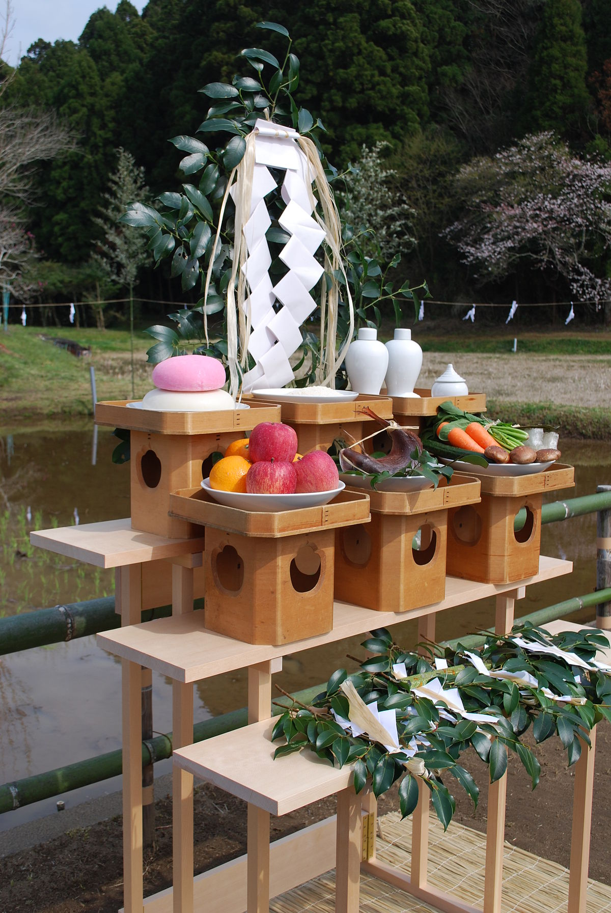 Votive offering of the Shinto,Katori-jingu,Katori-city,Japan.JPG
