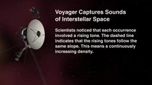 File: Voyager Cattura Suoni di Interstellar Space.webm