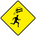 W142 Children Crossing - Warning Sign Ireland.png