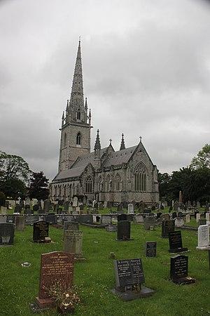 Bodelwyddan - Marble Church, Bodelwyddan