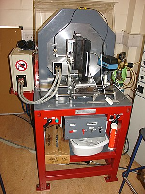 Wolfson Centre for Magnetics - A system for production of amorphous microwires