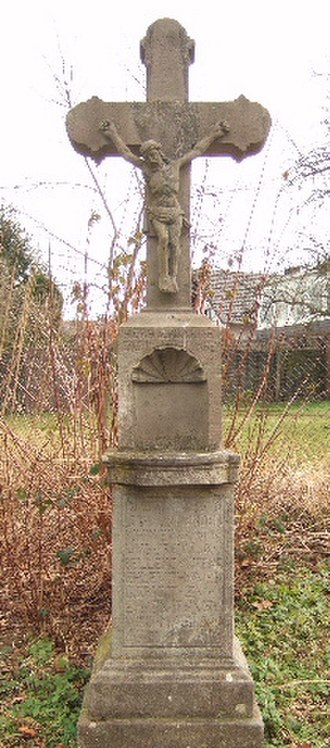 Wayside cross - Stone wayside cross in Bonn