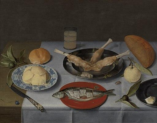 WLANL - karinvogt - Jacob van Hulsdonck, Ontbijtje
